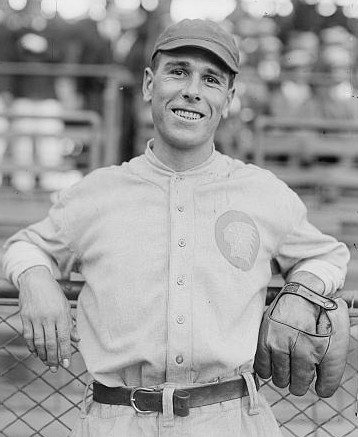 Fred Snodgrass as a Boston Brave in 1916