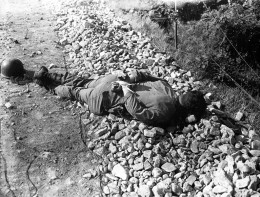 One of four Americans of the 21st Inf. Reg. captured 9 july, 1951, executed by North Koreans.