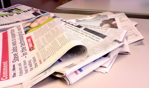 IS THE NEWSPAPER INDUSTRY DYING?