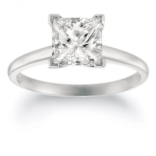 Low Price Princess Cut Diamond Engagement Rings; Steps to Do on How to ...