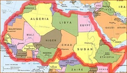 The Sun At Midnight Who Determines What Countries Are A Apart Of - North african countries