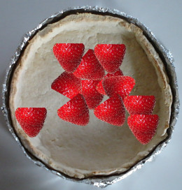 It can even handle the weight of a strawberry pie!