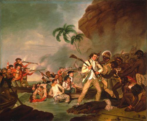 Captain Cook's Arrival on the Hawaiian Islands