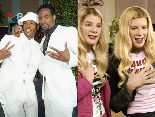 Marlon & Shawn Wayans in White Chicks