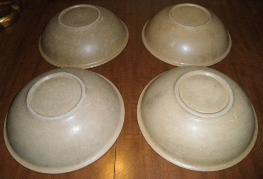 Vintage Bolta bowls are very similar to Vollrath bowls. They have a very slightly different texture but are the same size and shape.