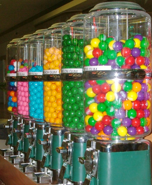 Candy vending business