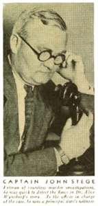Captain John Stege