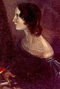 A portrait of Emily Brontë made by her brother, Branwell Brontë.