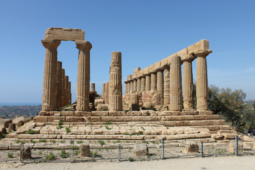 2500 years old . . . Valley of the Temples, Agrigento, Sicily