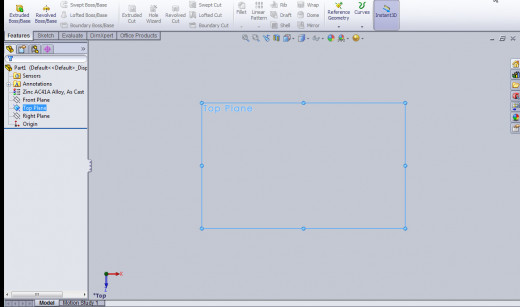 Solidworks Tutorials For Beginners How To Use Extrude Boss
