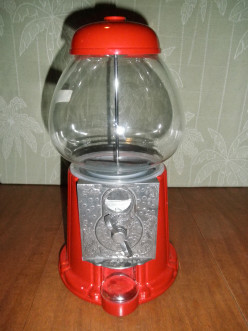 Vintage Carousel Gumball Machine On Ebay