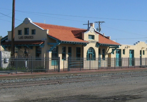 Train Station in Las Cruces, New Mexico