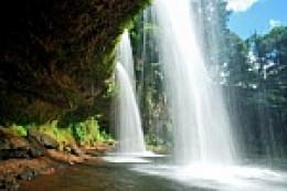 waterfalls in Laos