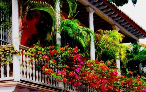 Traditional Colombian home