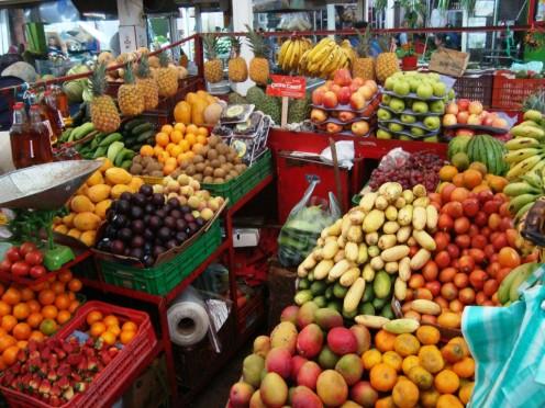 Typical neighborhood market