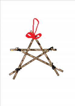 Christmas Star. A Super Simple, Easy How to Make a Christmas Star Perfect for Kids Christmas Craft - Instructable