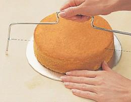 Wilton's cake leveler