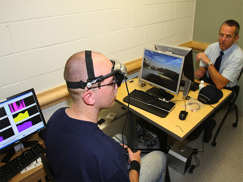 The U.S. Army tests the use of biofeedback to help soldiers control their bodily reactions to stress.