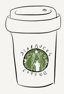 Starbucks Cup Drawing Easy