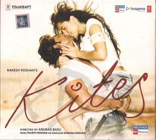 Kites, stars Bollywood Star Hrithik Roshan and Barbara Mori