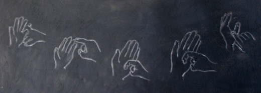 National Apology Day in sign language. Sometimes words convey less than our gestures.