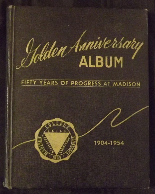 1904-1954 Golden Anniversary Album of Madison College