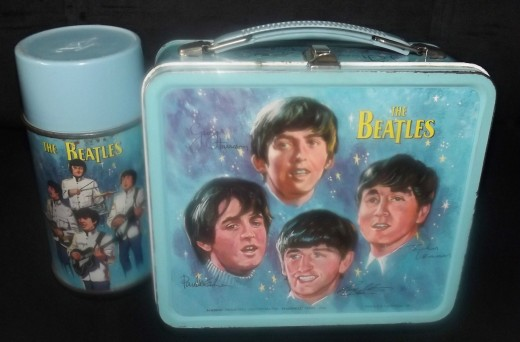The Beatles 1964 Lunch Can with Thermos