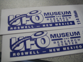From the USA Museum in Roswell