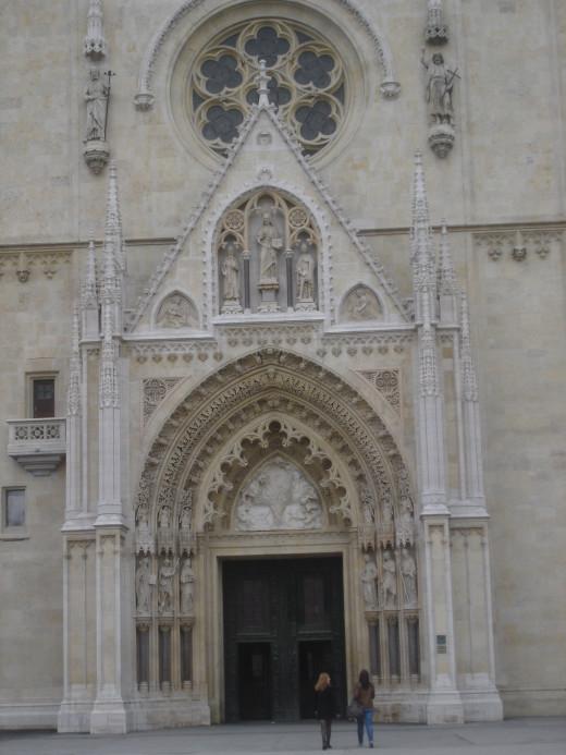 Captol Katedrala Zagreb Croatia
