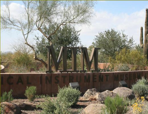 Scottsdale, Arizona Musical Instrument Museum.