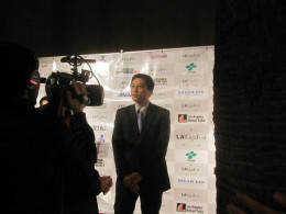 Here is a picture of Jun Niimi. He is the Consulate General of Japan in Los Angeles.