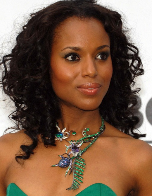 A-list black actress Kerry Washington