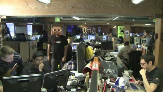Image of IGN Harlem shake.