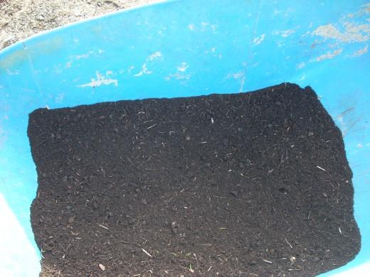 Debris-Free Gardening Soil