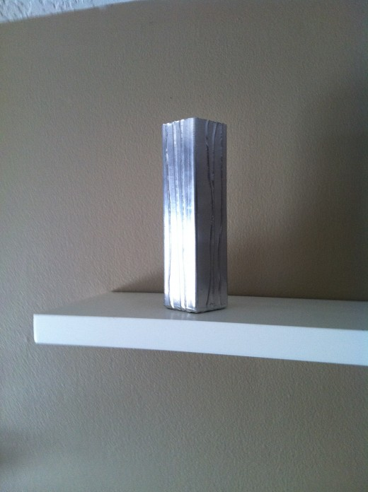 "A newly ""created"" vase from a boring one."
