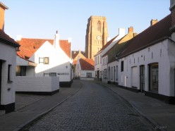 Stationstraat, Lissewege