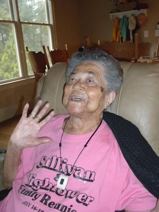 I'm 93 and feeling fine!
