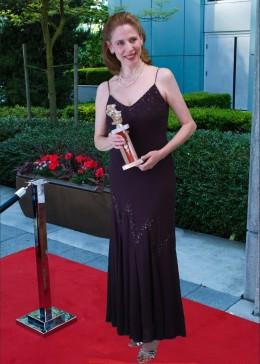 Toni Deaver on the red carpet