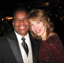 Toni and her friend Kirby Britton at the 83rd Annual Pre Academy Awards Party. I missed that party!