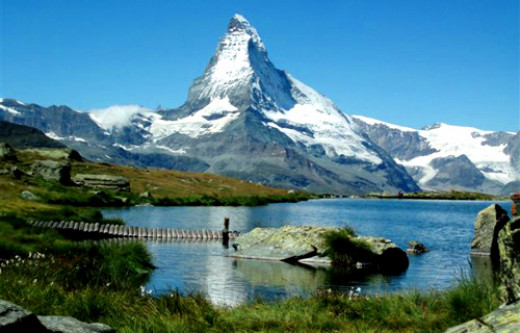Mount Matterhorn of Switzerland