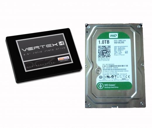SSD vs SATA drive