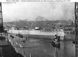 The German Battleship Bismark in 1939.