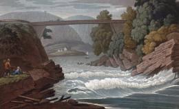 Bridge near Skeen over the Fjord.