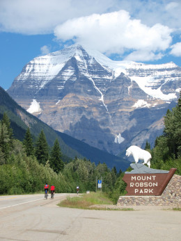 Mount Robson of Canada