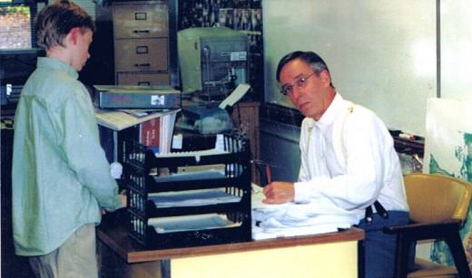 The writer as a teacher