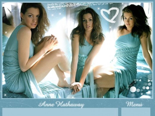 Anne Jacqueline Hathaway (born November 12, 1982) is an Academy
