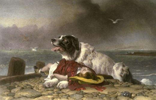 Saved is Sir Edwin Henry Landseer
