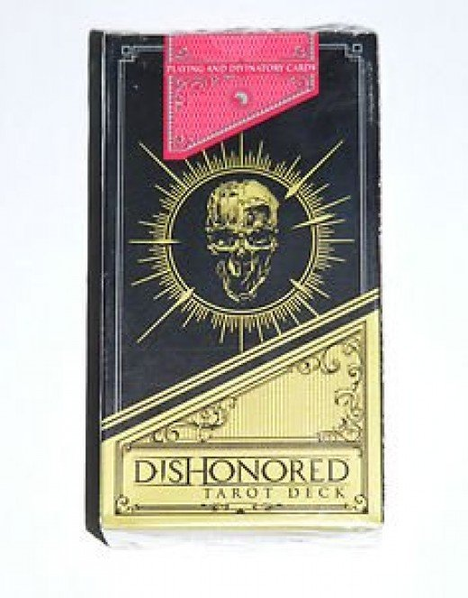 Dishonored tarot card box