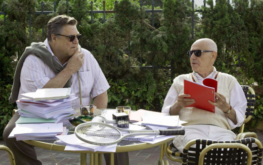 John Chambers (John Goodman) and Lester Siegel (Alan Arkin) © Warner Bros/GK Films
