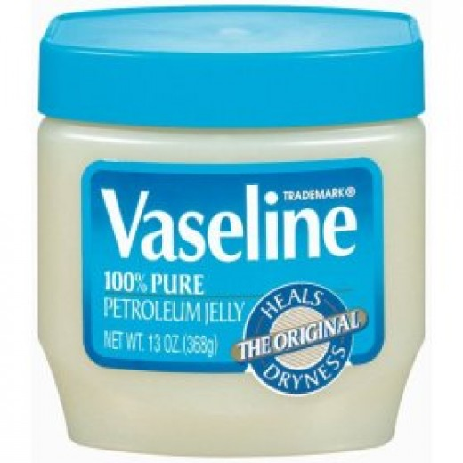 Vaseline is the main brand for patroleum jelly.